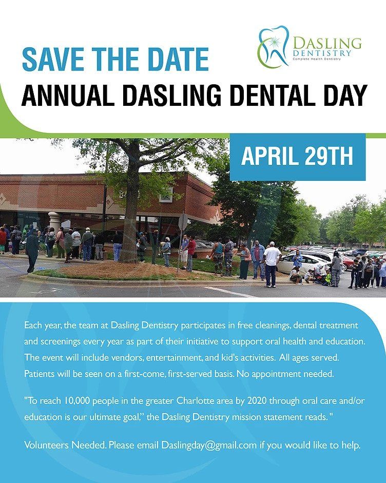 Annual Dasling Dental Day